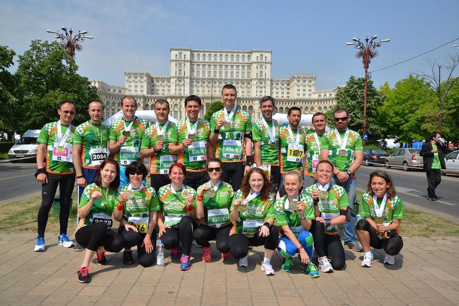 CRT prezenta si la OMV Petrom Half Marathon Bucuresti 2015