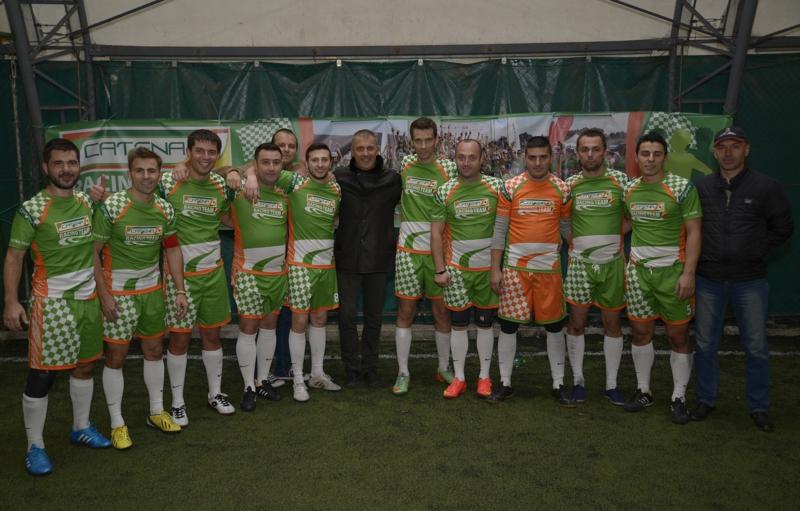 RADU GEORGE si echipa de fotbal CATENA RACING TEAM
