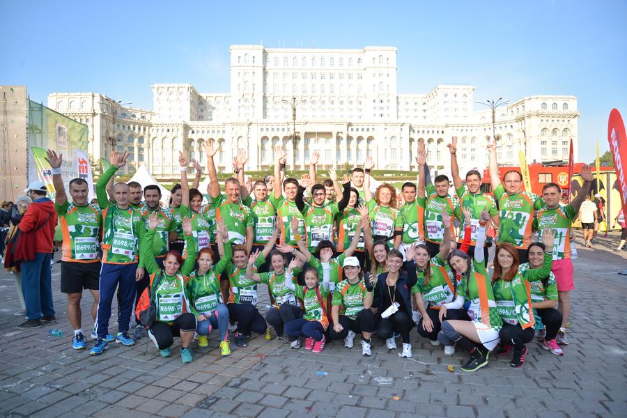 CATENA RACING TEAM la Bucharest MARATHON 2015