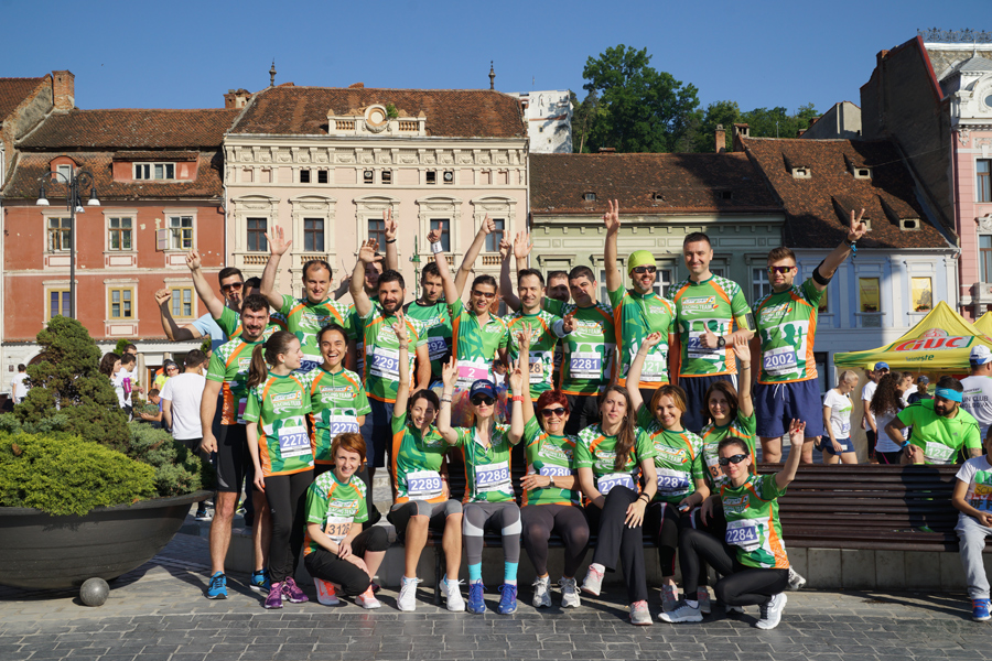 CRT la Maratonul International Brasov, editia a-II-a.