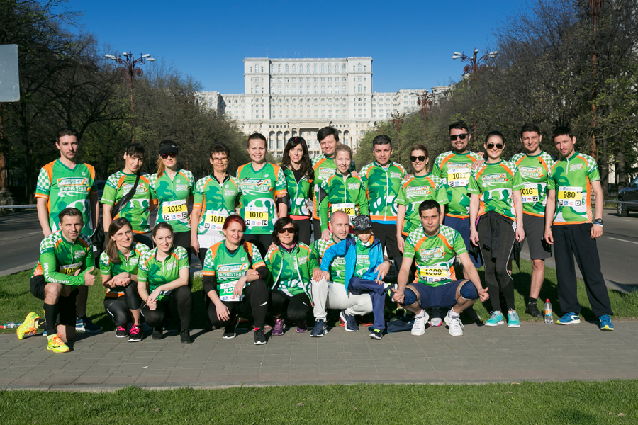CRT cu energie la Bucharest 10K & Family Run