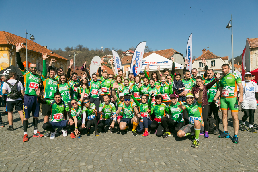 De 1 Aprilie 2017, Catena Racing Team a iesit la alergat