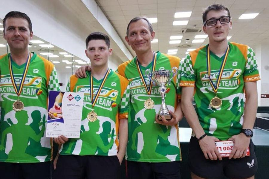 Tenisul de masa are noi campioni - Catena Racing Team