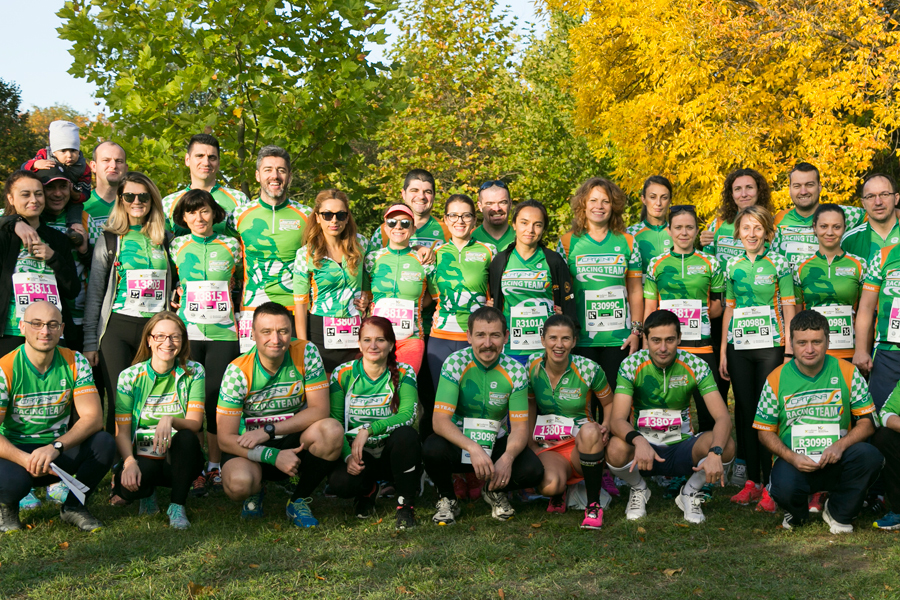 Catena Racing Team la Raiffeisen Bank Bucharest MARATHON 2017