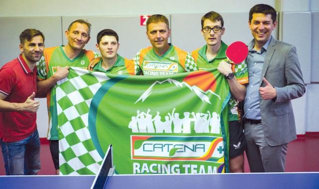 Spiritul de echipă, ridicat la rang de performanţă. Catena Racing Team - cel mai valoros club sportiv al unei companii din România