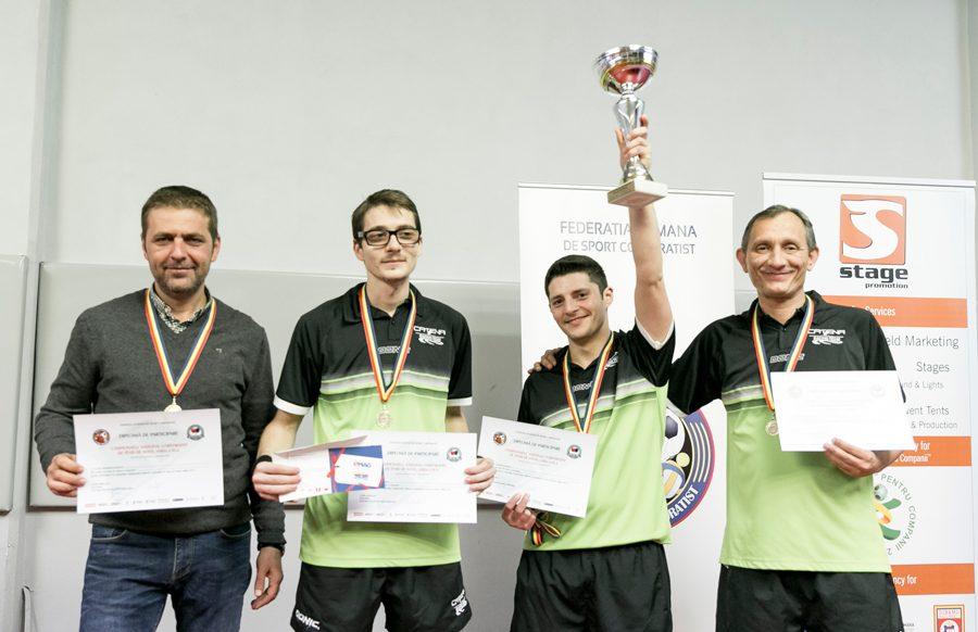 Catena Racing Team, CAMPIOANA Tenisului de Masa Corporatist