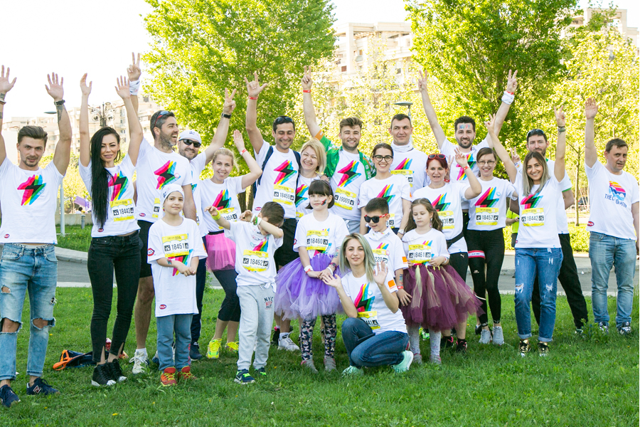 Catena Racing Team la Color Run Hero Tour 2018!