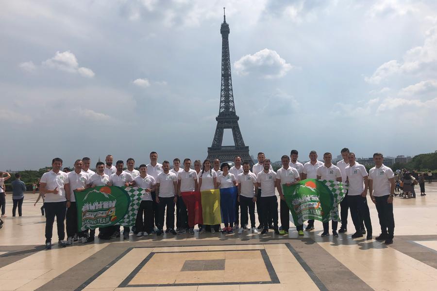 Catena Racing Team Romania, la World Company Sports & Games 2018, Franta