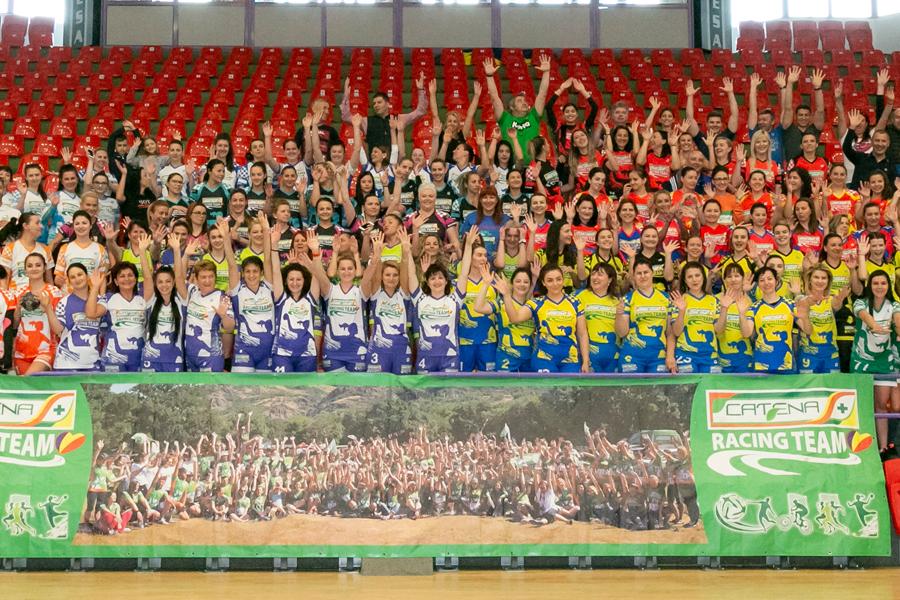 Campionatul de handbal feminin PRINDE ARIPI, Catena Racing Team, editia a VI-a - SIBIU