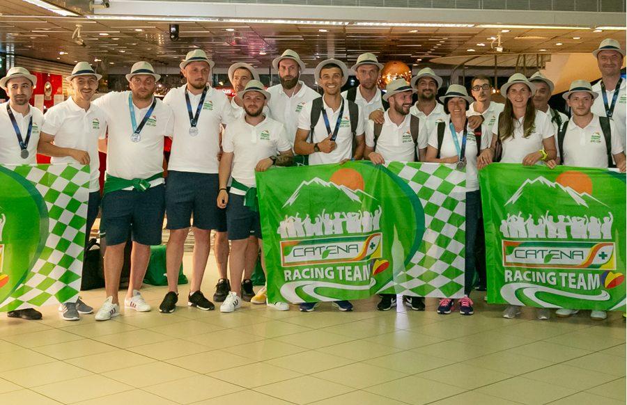 CATENA Racing Team Romania - 12 medalii obtinute la World Company Sports and Games 2018, Franta