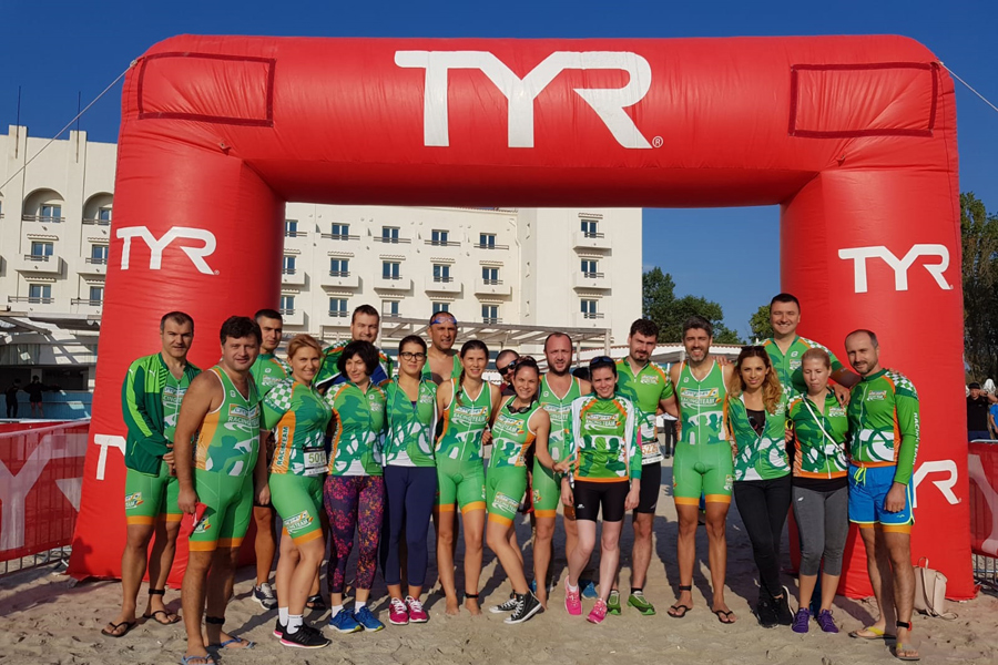 Catena Racing Team la Triathlon Challenge Mamaia 2018