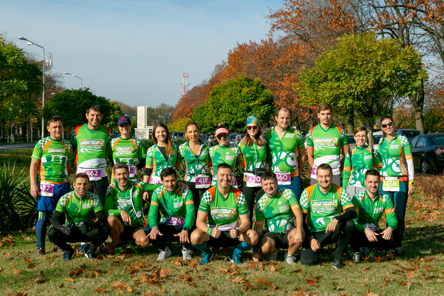 Catena Racing Team la Baneasa Forest Run, editia de toamna
