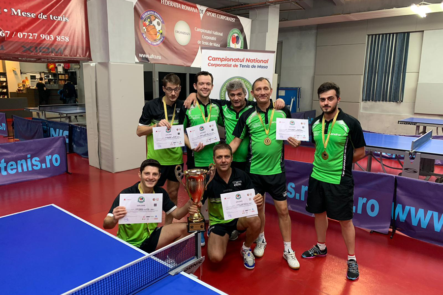 Catena Racing Team a castigat Campionatul National Corporatist de Tenis de Masa!!!!! A 3-a oara consecutiiiiv!!!!