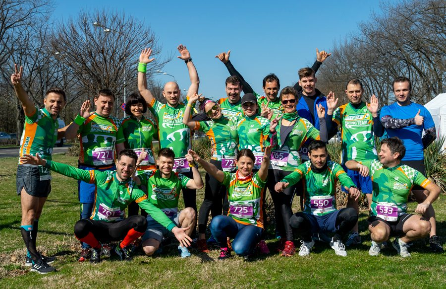 Catena Racing Team, cu zambete inainte la Baneasa Forest Run
