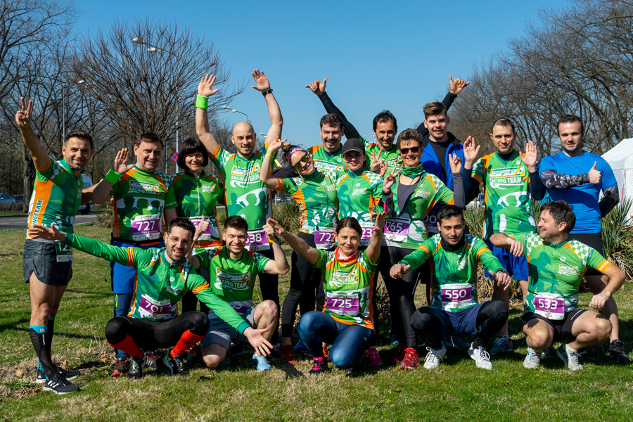 Catena Racing Team, cu zambete inainte la Baneasa Forest Run